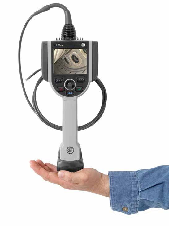 The XL Vu VideoProbe is equipped to handle all of your remote visual inspection needs.