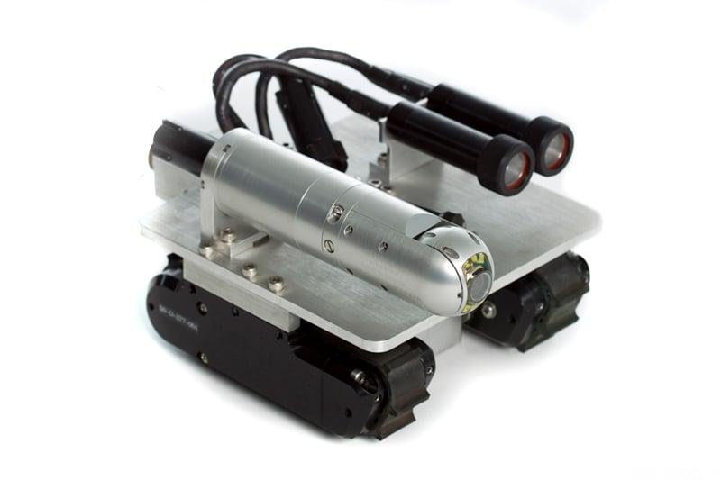 Versatrax VT100 MicroMag Robotic Crawler for Remote Visual Inspection (RVI)